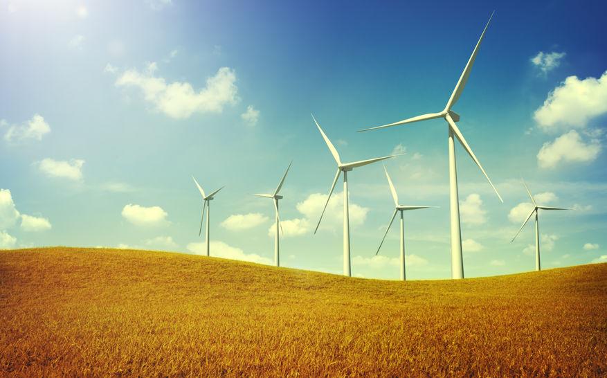 Wind Turbines 100% renewable energy