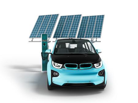 solar panel car