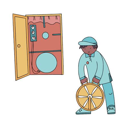 energy savings with blower door test